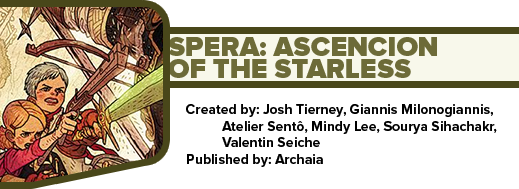 Spera: Ascencion of the Starless by Josh Tierney