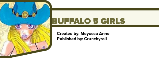 Buffalo 5 Girls by Moyocco Anno
