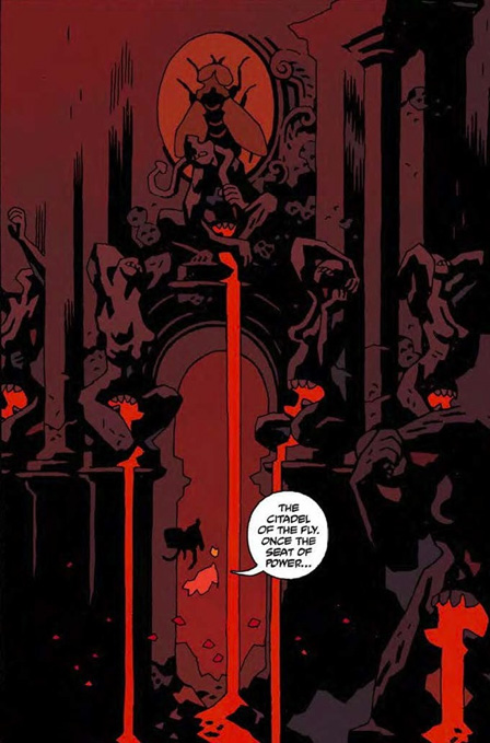 Hellboy in Hell by Mike Mignola