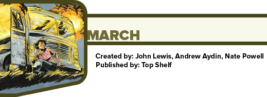 March by John Lewis, Andrew Aydin, and Nate Powell