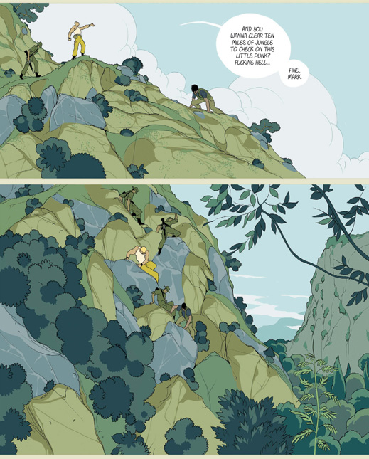 The Divine by Boaz Lavie, Asaf Hanuka, and Tomer Hanuka