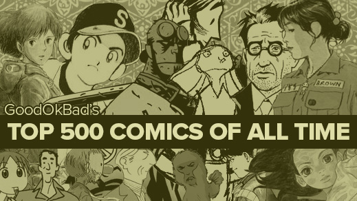 The 500 Best Comics Of All Time