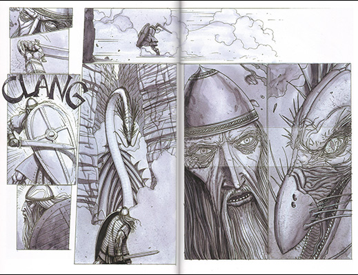 Beowulf by Santiago García and David Rubín
