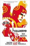 Hawkeye, vol 4 by Matt Fraction and David Aja