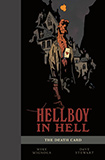 Hellboy In Hell, vol 2 (The Death Card) hardcover by Mike Mignola