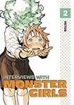 Interviews With Monster Girls, vol 2 by Petos