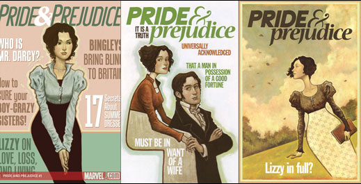 Marvel's Pride & Prejudice by Nancy Butler and Hugo Petrus