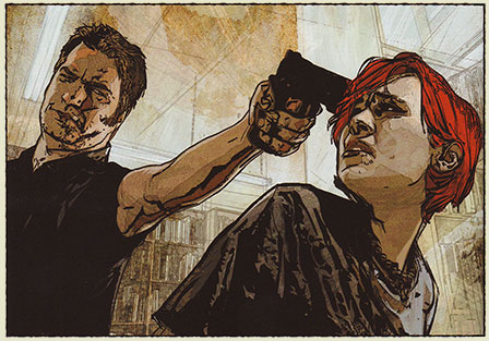 Scarlet by Brian Michael Bendis and Alex Maleev