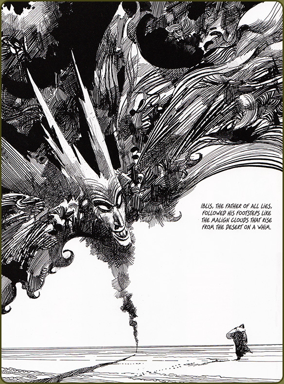Sharaz-De: Tales from the Arabian Nights by Sergio Toppi