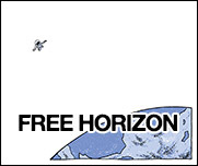 Free Horizon, a sci-fi comic by Austin Wilson and drawn by Seth T. Hahne