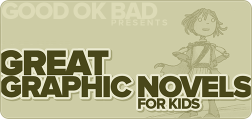 Great Graphic Novels for Kids gift list